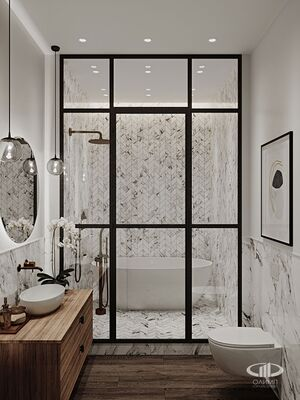 Дизайн интерьера 3-х комнатной квартиры в ЖК Balchug Viewpoint | Фото №2