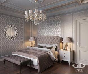 Дизайн интерьера квартиры в классическом стиле | Визуализация №14