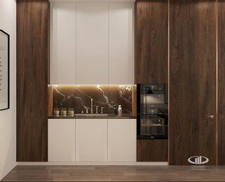 Визуализация интерьера квартиры в ЖК Balchug Viewpoint | Современный стиль | Фото №8