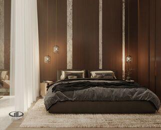 ЗD-визуализация дизайна интерьера квартиры в ЖК Садовые Кварталы в стиле современный минимализм | Фото №14