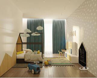 ЗD-визуализация дизайна интерьера квартиры в ЖК Садовые Кварталы в стиле современный минимализм | Фото №25