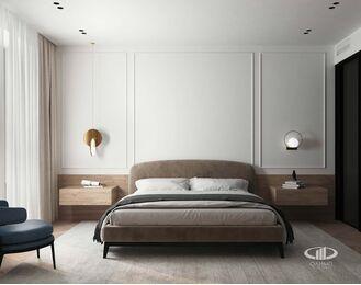 Дизайн интерьера четырехкомнатной квартиры в ЖК Balchug Viewpoint | 3d-визуализация №7