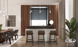 3D визуализация квартиры в современном стиле | Фото 7