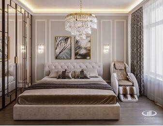 Спальня | 3D-визуализация №3