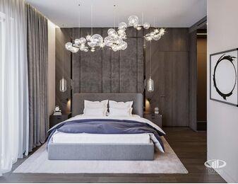 Дизайн 3-комнатной квартиры в ЖК Вишневый сад | Фото №7