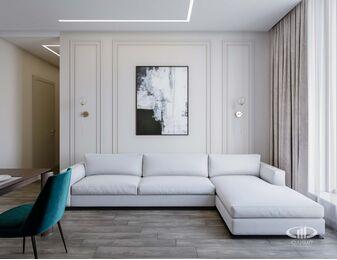 Дизайн интерьера квартиры в ЖК Новочеремушкинская 17 | Фото №2
