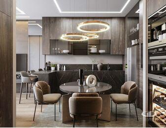 Современный дизайн квартиры в ЖК Сердце Столицы   Фото №5