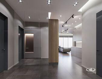 Квартира в современном стиле ЖК RedSide | 3d-визуаизайия №5