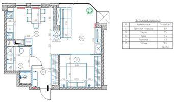 Планировка   Минимализм в интерьере квартиры