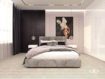 Дизайн интерьера квартиры в ЖК Сердце столицы | 3D-визуализация №4