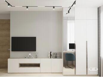 Дизайн интерьера квартиры в ЖК Голландский дом в стиле минимализм | Фото №2