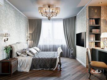 Квартира в классическом стиле | Визуализация №1