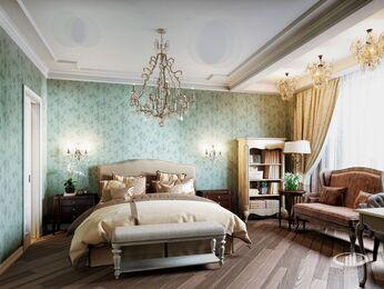 Квартира в классическом стиле | Визуализация №7