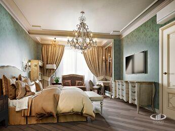 Квартира в классическом стиле | Визуализация №8