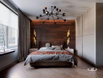 Спальня в современном стиле | 3D-визуализация №2