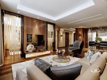 Дизайн интерьера квартиры в ЖК Авеню 77   Стиль Ар-Деко   Фото №2