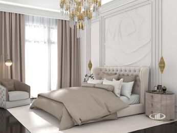 Дизайн интерьера апартаментов в стиле Ар-Деко МФК Balchug Viewpoint | Фото №4