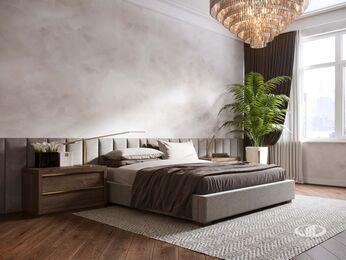 Дизайн интерьера 3-х комнатной квартиры в ЖК Лица | Современный стиль | 3d-визуализация №17