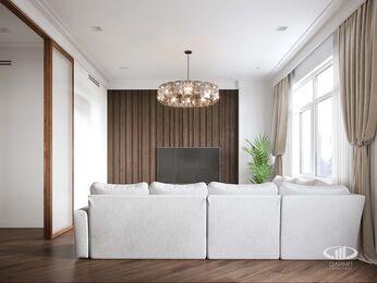 Дизайн интерьера 3-х комнатной квартиры в ЖК Лица | Современный стиль | 3d-визуализация №8