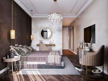 Дизайн интерьера 2-х комнатных апартаментов в МФК Balchug Viewpoint | 3d-визуализация №5