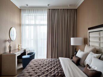 Дизайнерский ремонт квартиры в ЖК Сердце Столицы фото №18 | Спальня