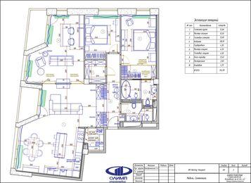 Дизайн интерьера четырехкомнатной квартиры в ЖК Balchug Viewpoint | Планировка