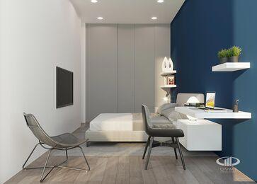 Визуализация интерьера квартиры в ЖК Balchug Viewpoint | Современный стиль | Фото №16