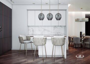 Дизайн интерьера квартиры в ЖК Резиденция Монэ | Фото №4