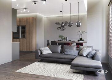 Квартира в современном стиле ЖК RedSide | 3d-визуаизайия №1