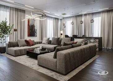 Дизайн 3-комнатной квартиры в ЖК Вишневый сад | Фото №4