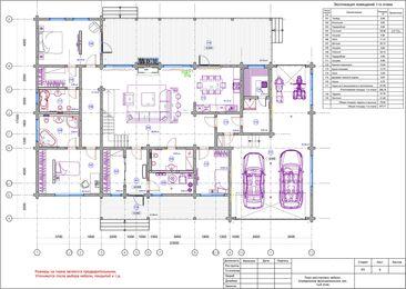 Дизайн интерьера загородного дома в стиле минимализм | Планировка дома 1 этаж