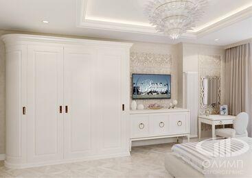 3D-визуализация квартиры в стиле Неоклассика фото №3