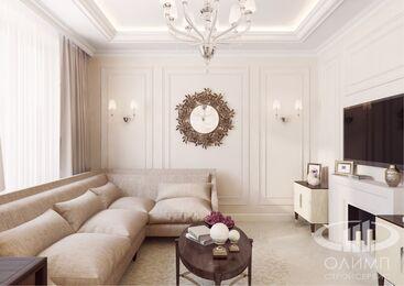 3D-визуализация квартиры в стиле Неоклассика фото №4