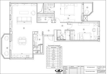 Ремонт квартиры в современном стиле | Планировка
