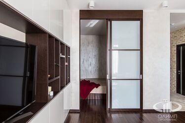 Комната-студия с современном стиле