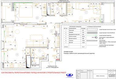 Дизайн интерьера квартиры в современном стиле ЖК Счастье в Тушино | Планировка
