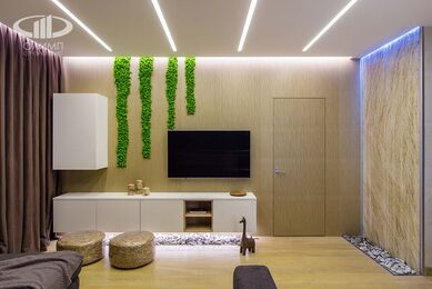Современный стиль интерьера квартиры в ЖК Мосфильмовский | Фото №1