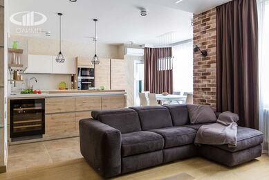 Современный стиль интерьера квартиры в ЖК Мосфильмовский | Фото №13