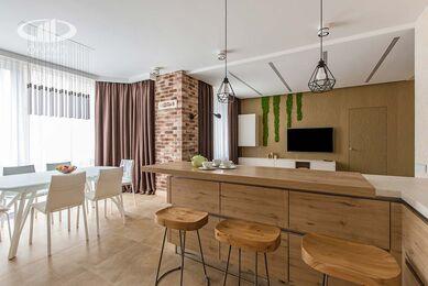 Современный стиль интерьера квартиры в ЖК Мосфильмовский | Фото №10