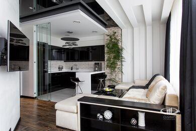 Ремонт однокомнатной квартиры в современном стиле | Фото №5
