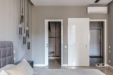Ремонт однокомнатной квартиры в ЖК Наследие | Спальня | Фото №7