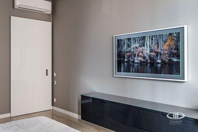 Ремонт однокомнатной квартиры в ЖК Наследие | Спальня | Фото №8