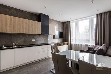 Ремонт однокомнатной квартиры в ЖК Наследие | Кухня-гостиная | Фото №6