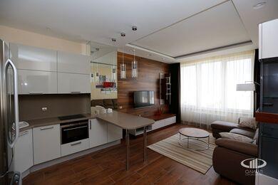 Внутренняя отделка однокомнатной квартиры | Фото №1