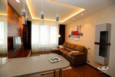 Внутренняя отделка однокомнатной квартиры | Фото №2