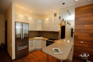 Внутренняя отделка однокомнатной квартиры | Фото №3