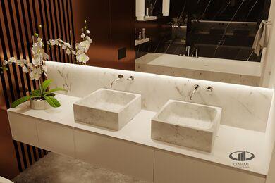 ЗD-визуализация дизайна интерьера квартиры в ЖК Садовые Кварталы в стиле современный минимализм | Фото №20
