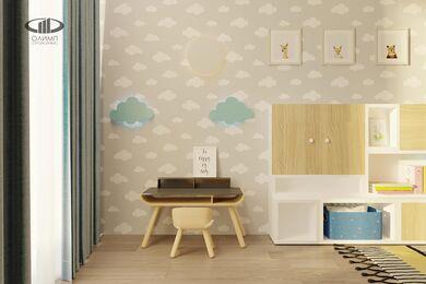 ЗD-визуализация дизайна интерьера квартиры в ЖК Садовые Кварталы в стиле современный минимализм | Фото №29