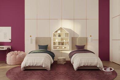 ЗD-визуализация дизайна интерьера квартиры в ЖК Садовые Кварталы в стиле современный минимализм | Фото №32