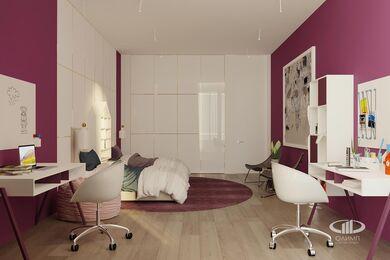 ЗD-визуализация дизайна интерьера квартиры в ЖК Садовые Кварталы в стиле современный минимализм | Фото №33
